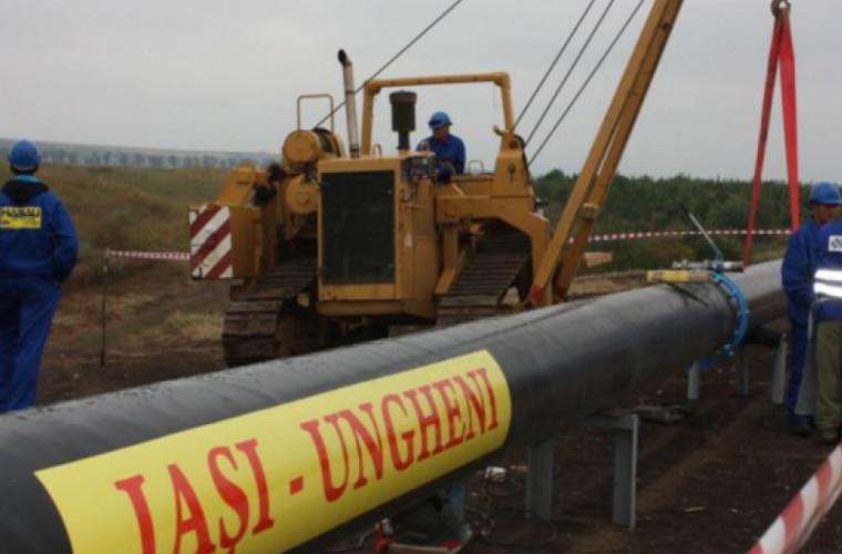 Chicu a spus cînd va fi gata gazoductul Iași - Ungheni