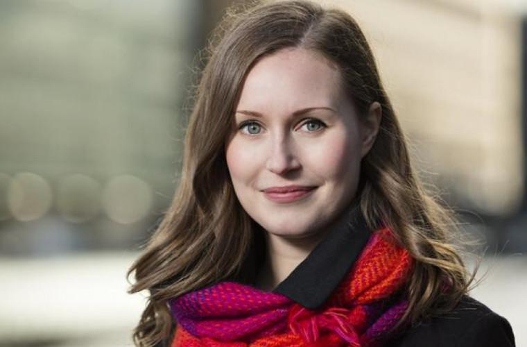 Sanna Mirella Marin, noul premier al Finlandei, la doar 34 de ani