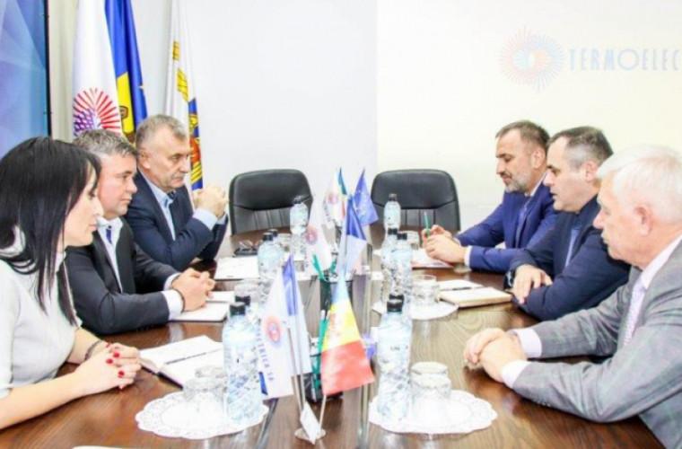 Termoelectrica și Moldovagaz își vor dezvolta relațiile de colaborare