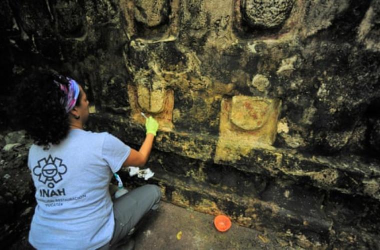 Arheologii au descoperit în Mexic un uriaș palat Maya vechi de o mie de ani