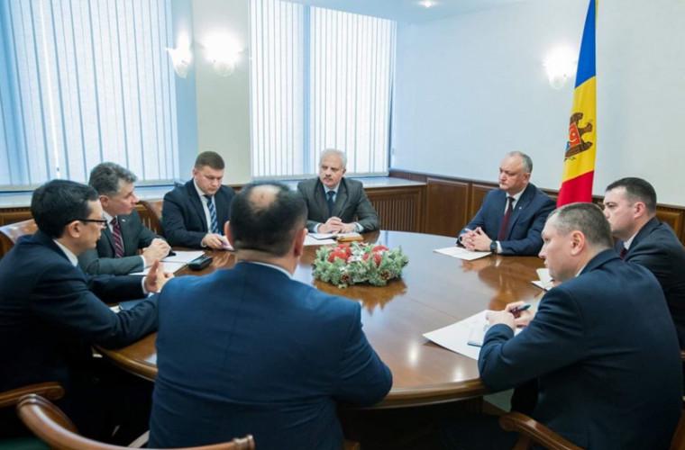 Dodon a avut o ședință cu Guvernatorul BNM și Ministrul Finanțelor (VIDEO)