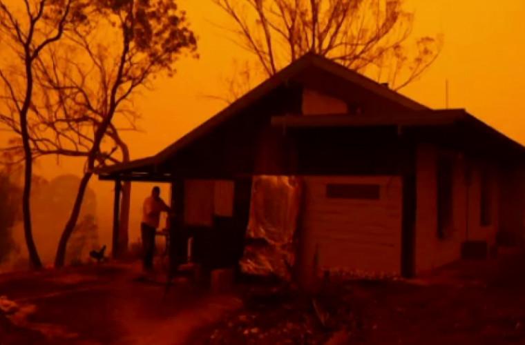 Un australian era sigur că locuinţa sa va rezista incendiillor. Ce a urmat