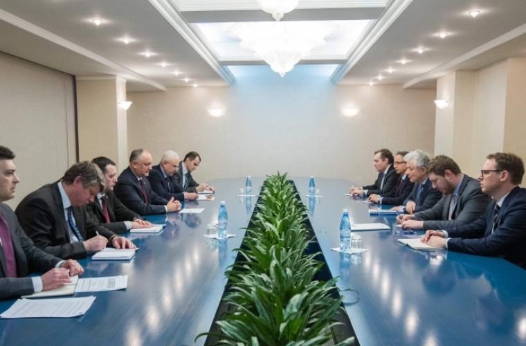 Preşedintele Moldovei a discutat despre reglementarea transnistreană cu Reprezentantul Special al OSCE