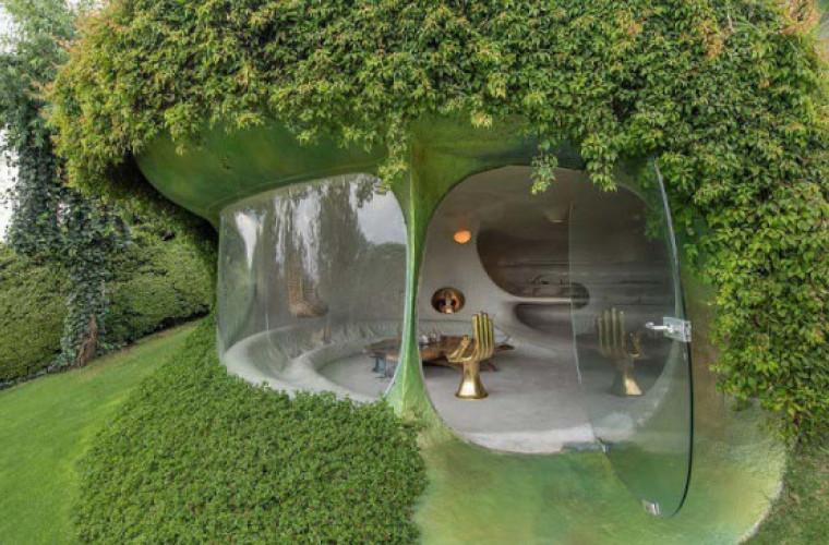 Потрясающие органические дома: теперь можно жить, как хоббит (Фото)