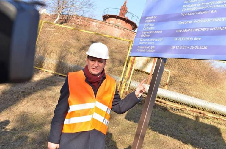 Ceban, către conducerea Apă Canal: Ori își dă demisia ori se mută la Stația de Epurare