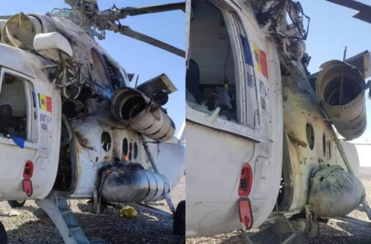 Un elicopter din R. Moldova, doborît în Afganistan. Primele imagini