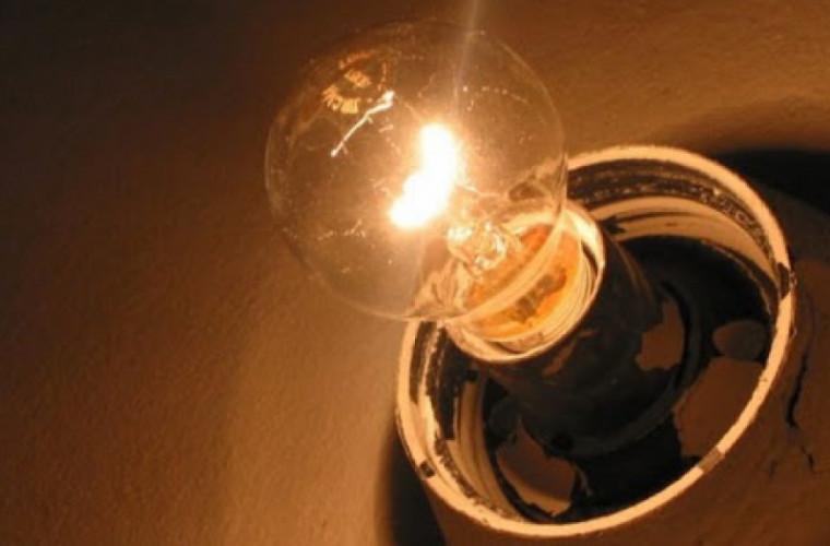 Cîteva localități din țară rămîn fără lumină pe 4 februarie