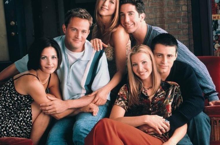"""Un proiect special cu actorii din """"Friends"""" va fi lansat în primăvară"""