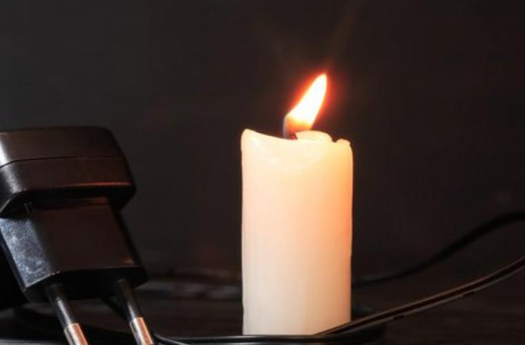 Cîteva localități din țară pe13 februarie rămîn fără lumină