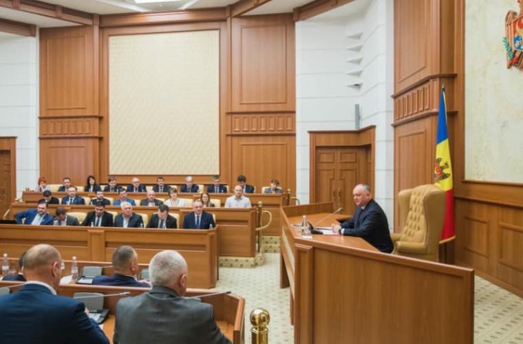 Додон объявил о запуске проекта по индустриализации страны