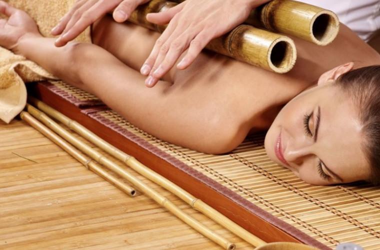 Beneficiile masajului cu bambus