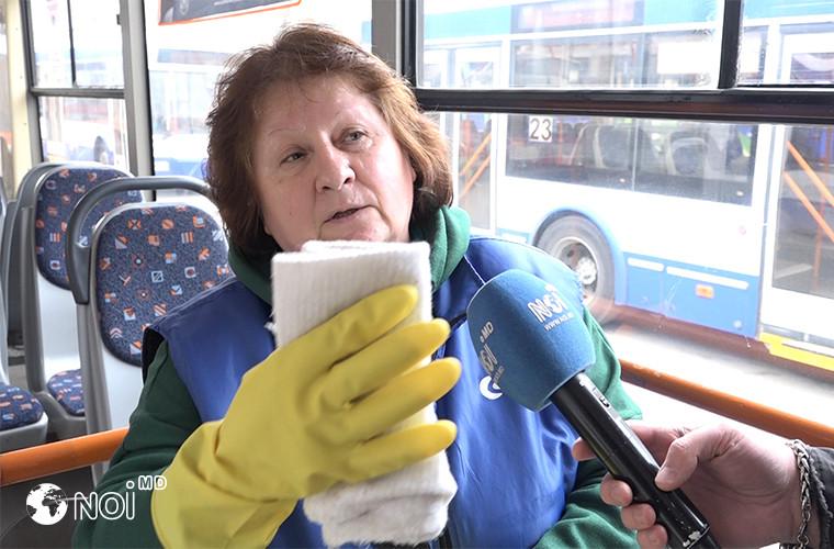 Măsuri anti-coronavirus în transportul public: Cine e responsabil de dezinfectarea suprafețelor (VIDEO)