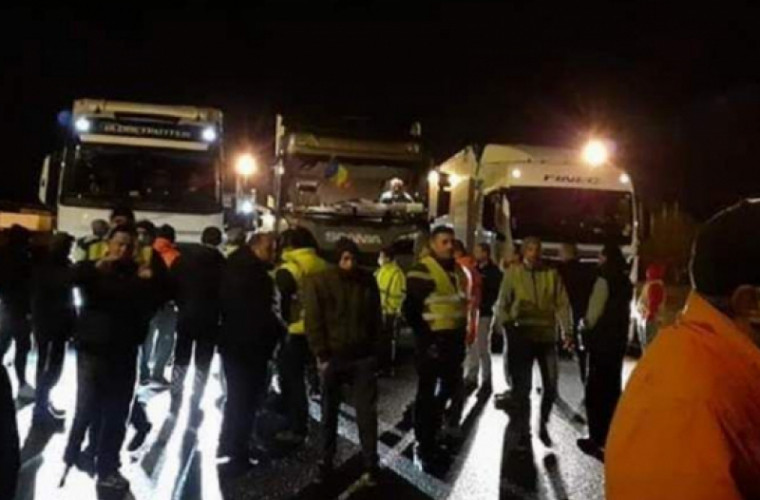 MAEIE comentează situația camioanelor blocate la hotarul Sloveniei