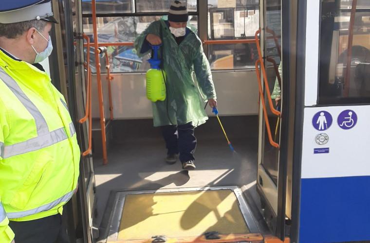 Activități efectuate de Poliția Capitalei la stațiile terminus a transportului public