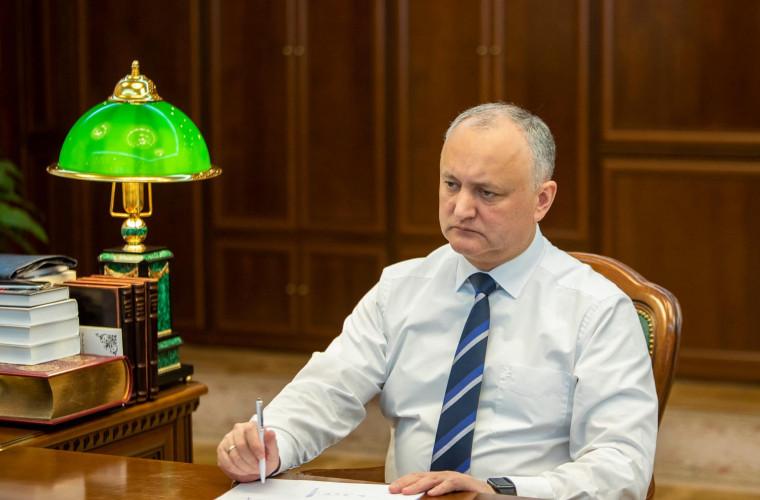 Igor Dodon spune că CA trebuie să-și revadă hotărîrea cu privire la activitatea presei