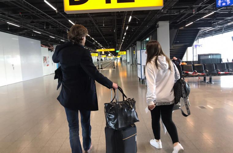 Istoria unei moldovence revenită acasă din Olanda, din cauza epidemiei