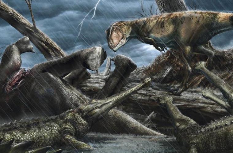 Paleontologii au găsit cel mai periculos loc din întreaga istorie a Pămîntului