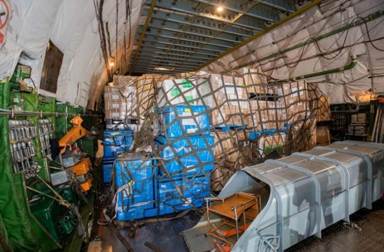 O parte din lotul cu echipamente din China a fost devamat