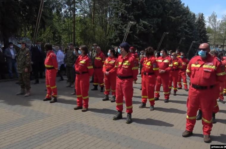 Ajutorul românesc pentru combaterea pandemiei de COVID-19 a ajuns la Chișinău