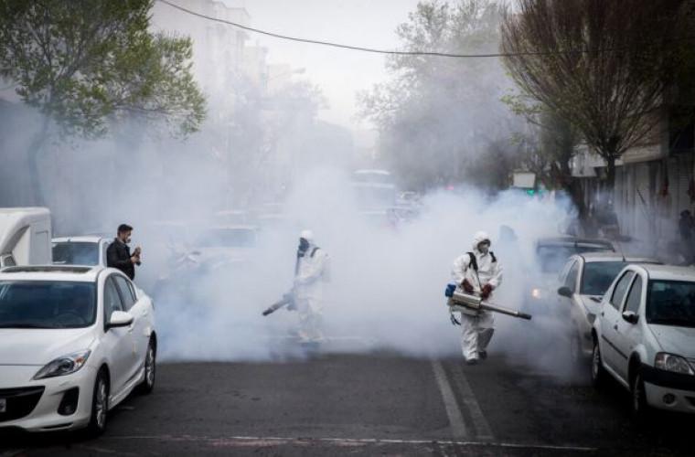 OMS: Pulverizarea de soluţii dezinfectante pe străzi este ineficientă