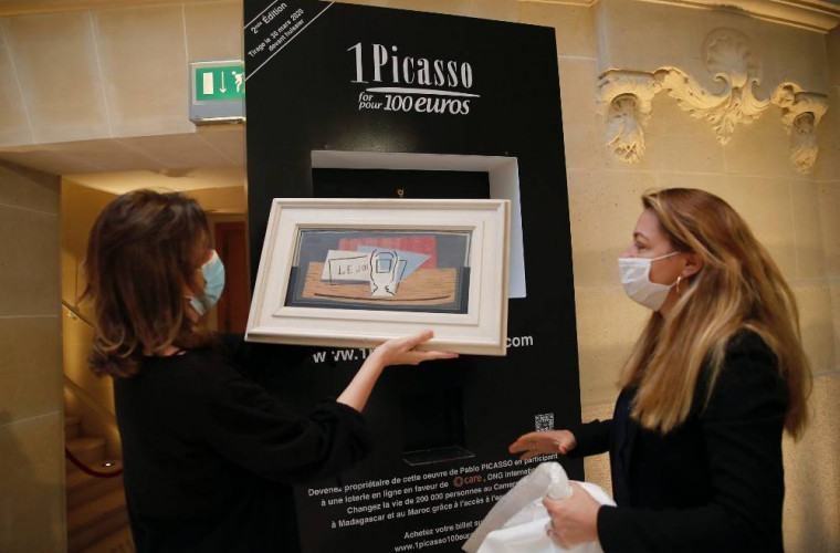 o-italianca-a-cistigat-la-loterie-un-tablou-de-picasso-evaluat-la-un-milion-de-euro