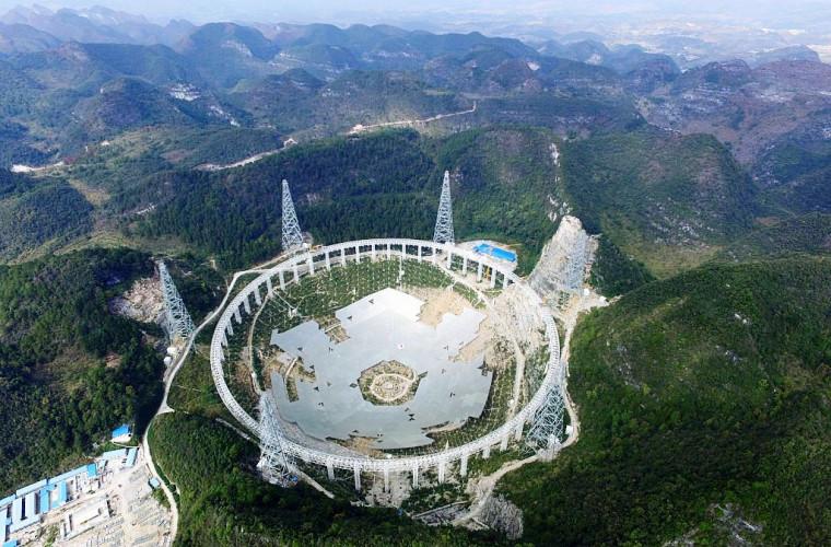 Cel mai mare telescop radio construit vreodată va cerceta Universul
