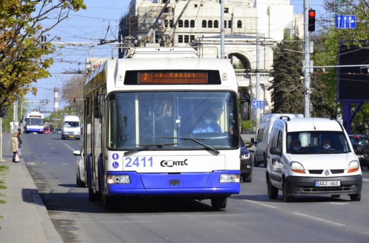 Hotărît! Transportul public din capitală va circula în regim normal