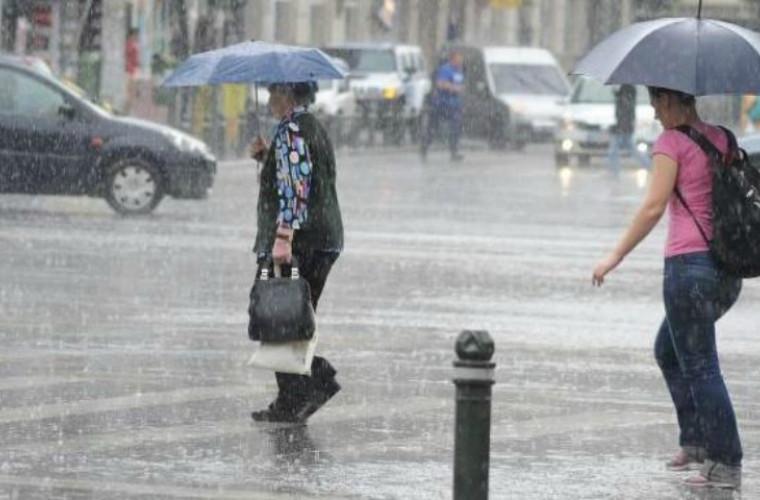 Este pregătit Chișinăul pentru ploile care vin?