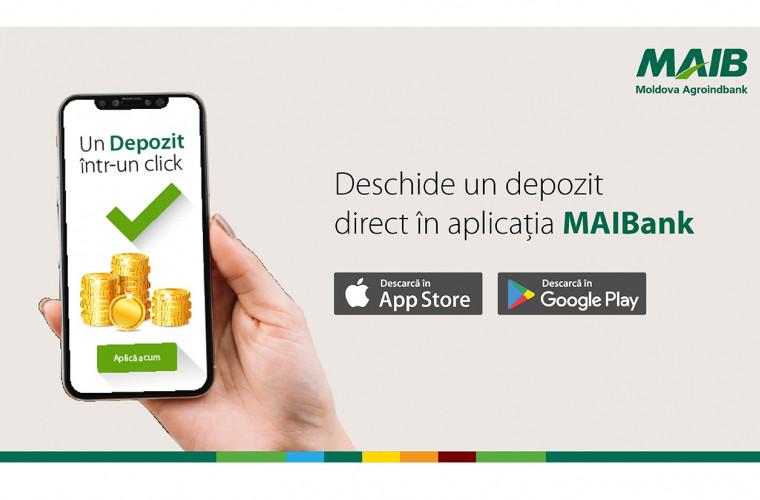 Nou: Deschide un cont de depozit fără să vii la bancă