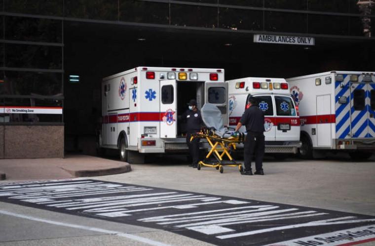 COVID-19 în SUA: Un nou record de cazuri înregistrate în 24 de ore