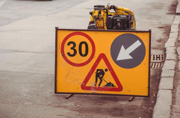 De luni, cîteva străzi din capitală vor fi închise