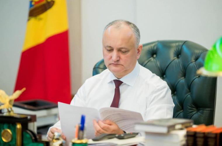 Sărbătoare în familia președintelui Igor Dodon (FOTO)