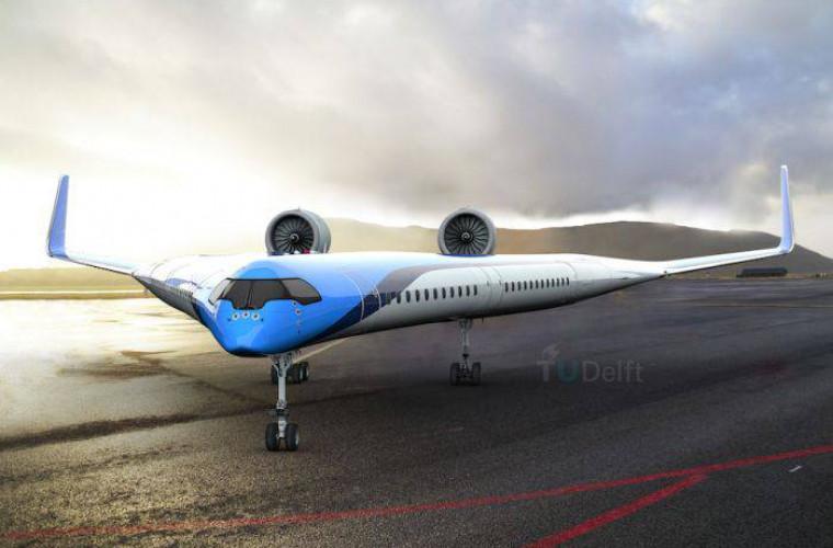 v-zburator-avionul-in-forma-de-bumerang-al-companiei-klm-video