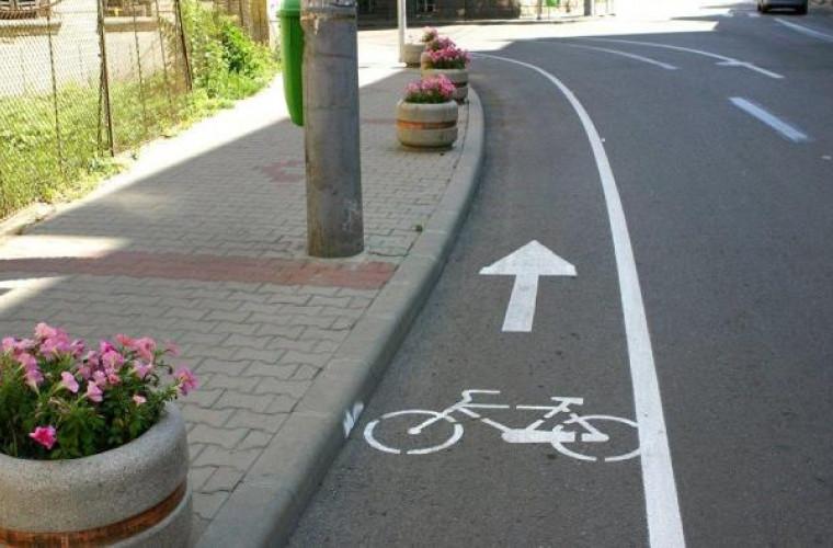 În capitală vor apărea piste noi pentru bicicliști