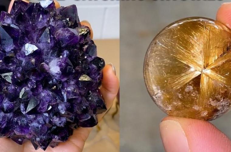 18 cele mai frumoase cristale (VIDEO)
