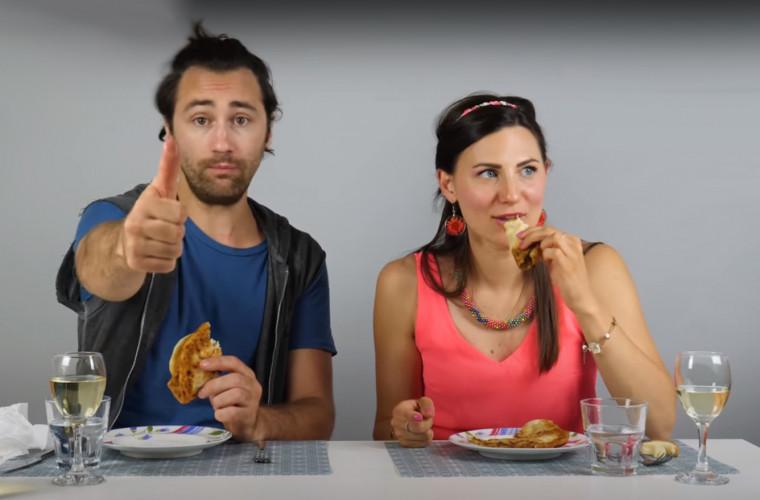 Reacția italienilor la bucatele din bucătăria moldovenească (VIDEO)