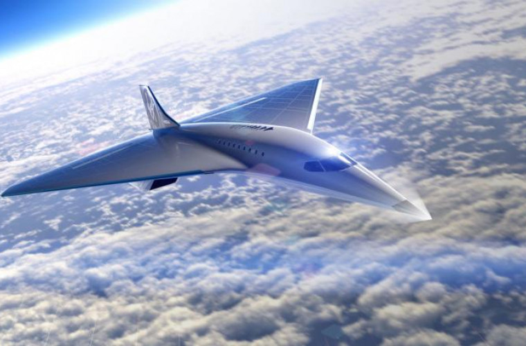 Virgin Galactic și Rolls Royce construiesc un avion supersonic