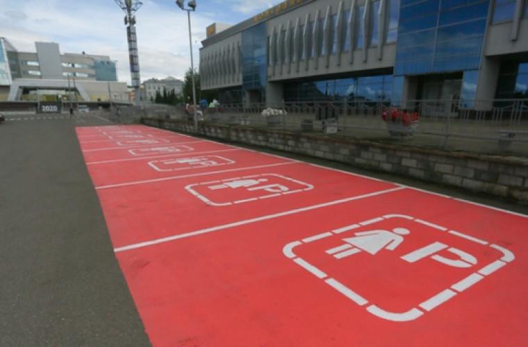 În Rusia a fost deschisă prima parcare pentru şoferiţe