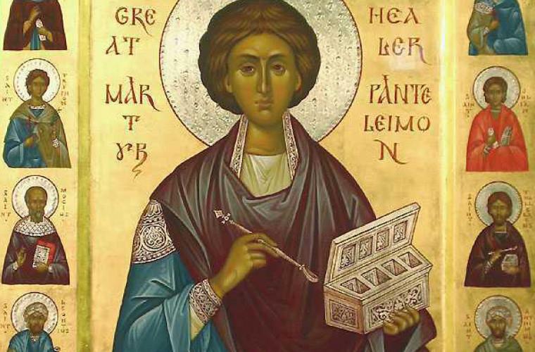 Creștinii ortodocși îl cinstesc astăzi pe Sfîntul Pantelimon. Mesajul președintelui