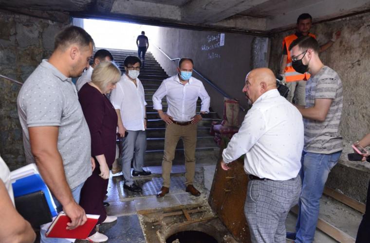 Încă o subterană din capitală intră în reparație