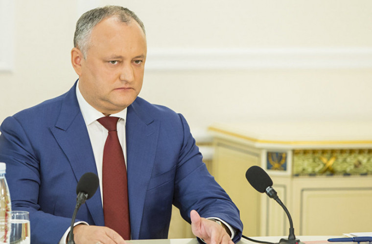 Dodon: În sfîrșit patru partide neoligarhice au decis să discute pe subiecte importante