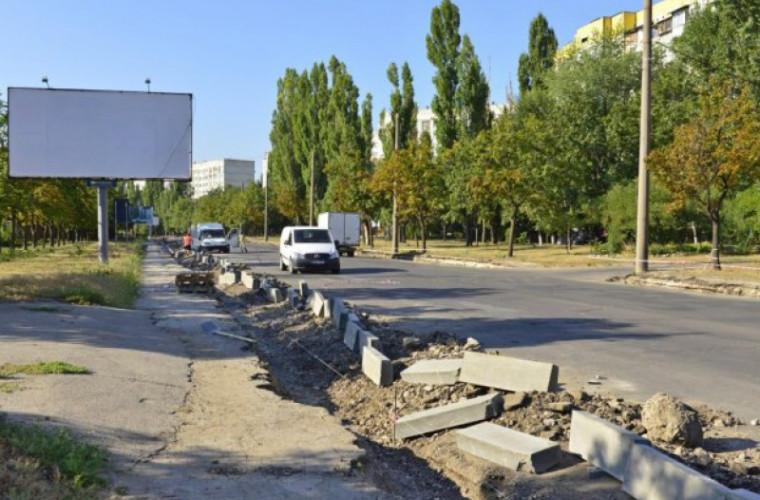 Cît vor costa municipalitatea lucrările de reparație a străzii Albișoara