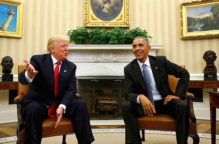 Trump răspunde criticilor lui Obama
