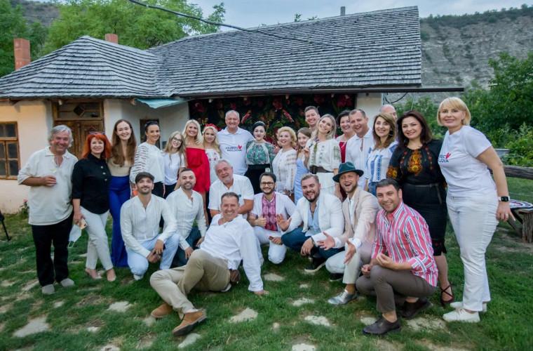 Igor Dodon s-a întîlnit cu mai mulți artiști moldoveni