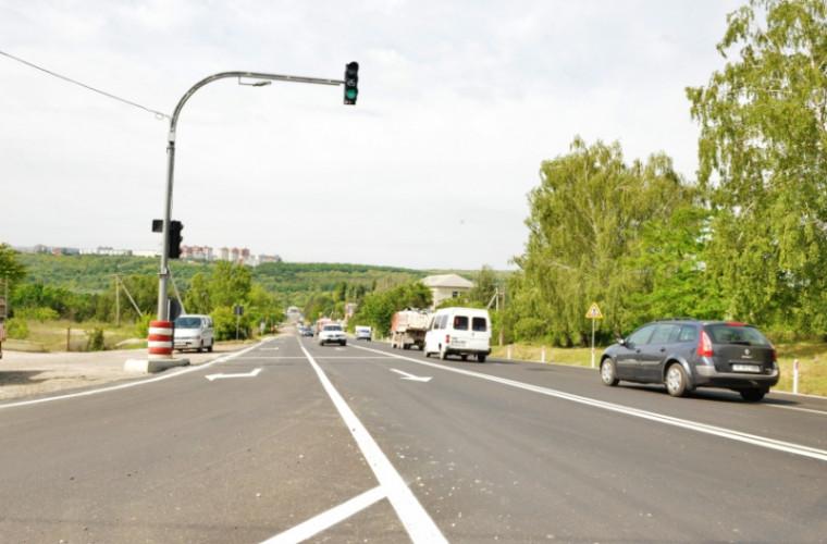 La ce etapă sînt lucrările de reparație a șoselei Balcani