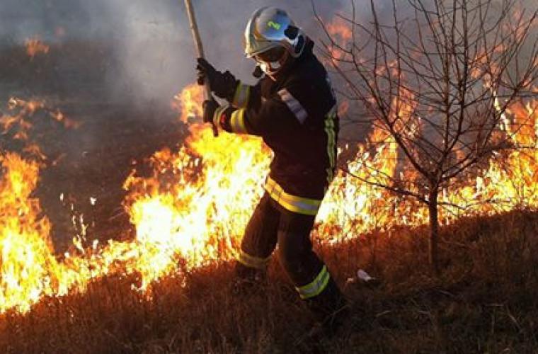 În ultimele 24 de ore pompierii au intervenit pentru a stinge 67 focare de ardere
