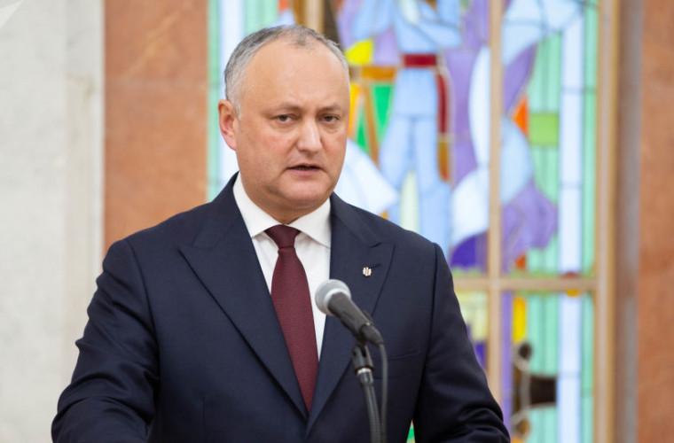 Igor Dodon, din nou lider la capitolul încredere din partea cetățenilor