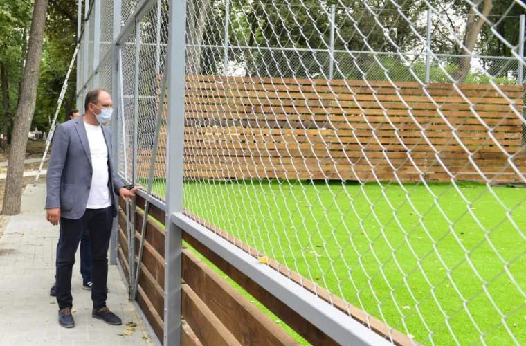 """Primarul spune cînd se vor finisa lucrările de amenajare a parcului """"Alunelul"""""""