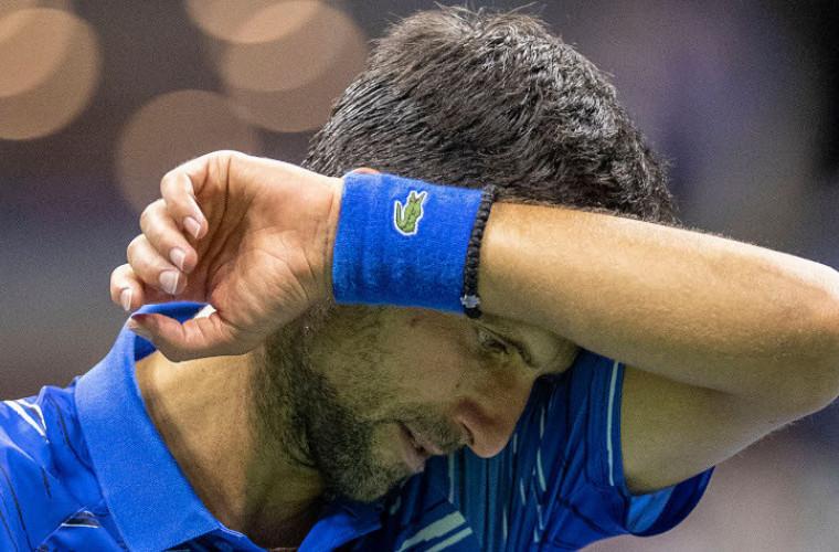 O nouă lovitură pentru Djokovici după descalificarea de la US Open