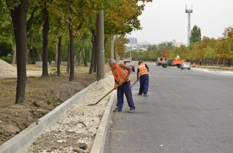 Chirtoacă, în inspecție pe strada Albișoara (VIDEO)